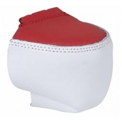 CHAYA TOE GUARDS - WHITE/RED